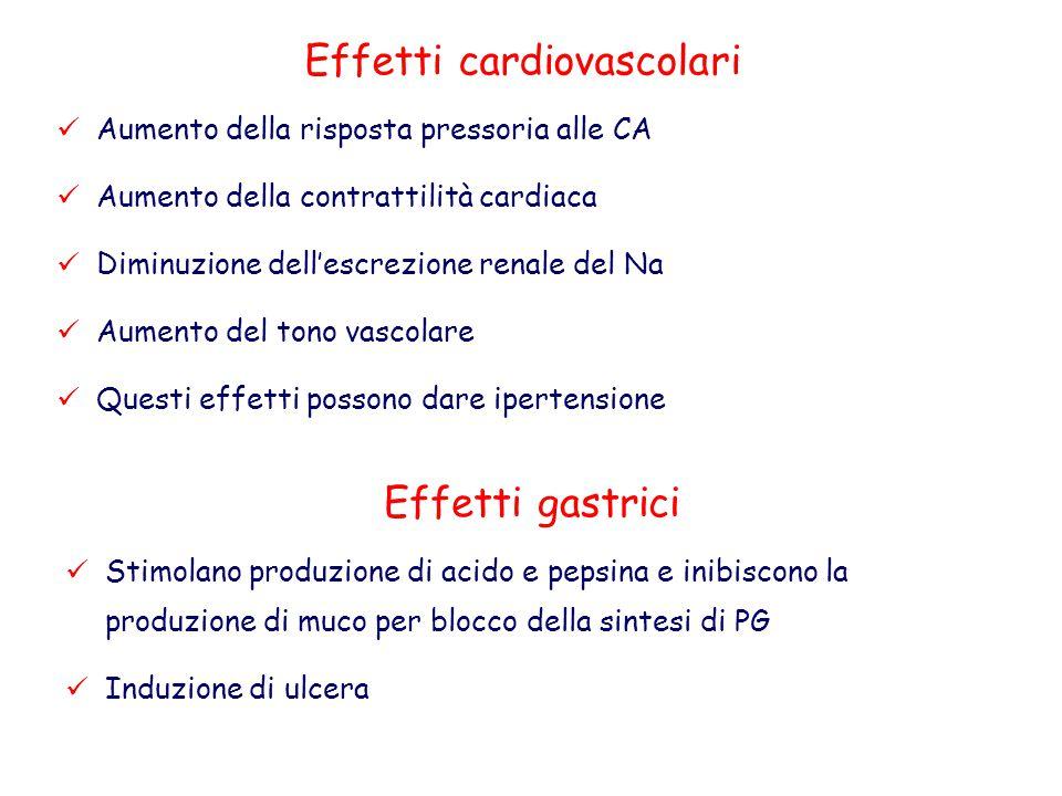Effetti cardiovascolari