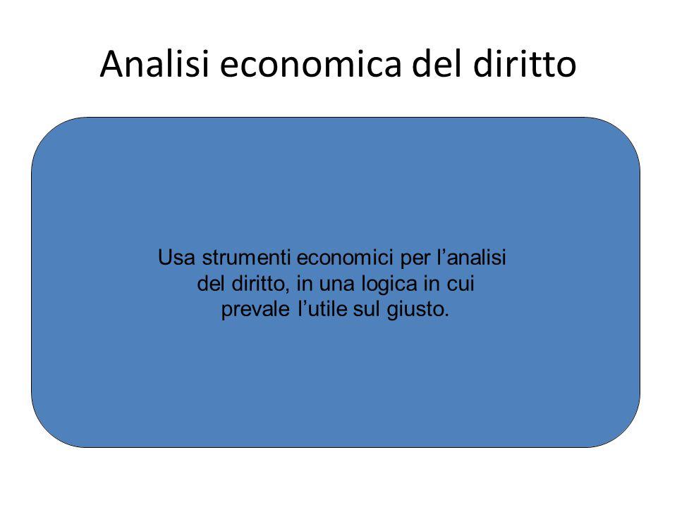 Analisi economica del diritto