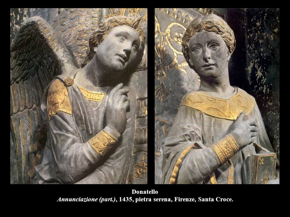 Donatello Annunciazione (part