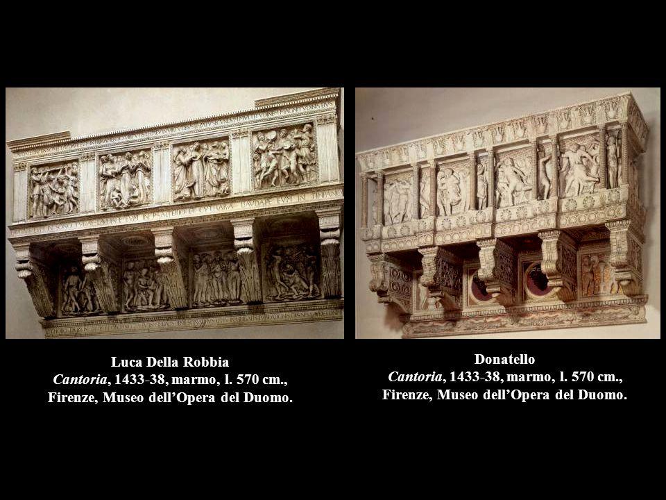 Luca Della Robbia Cantoria, 1433-38, marmo, l. 570 cm