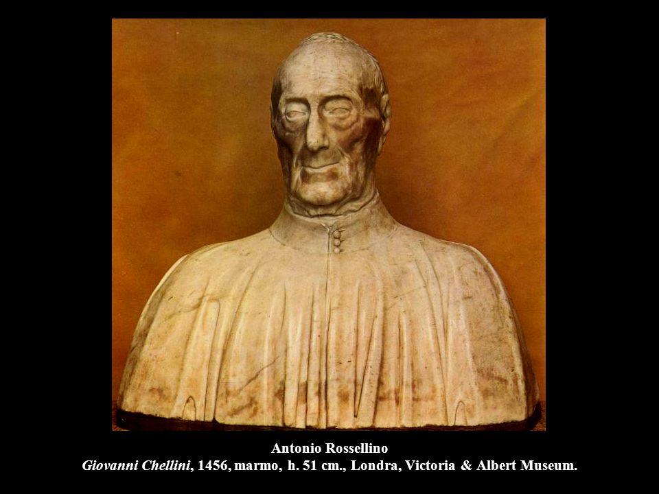 Antonio Rossellino Giovanni Chellini, 1456, marmo, h. 51 cm