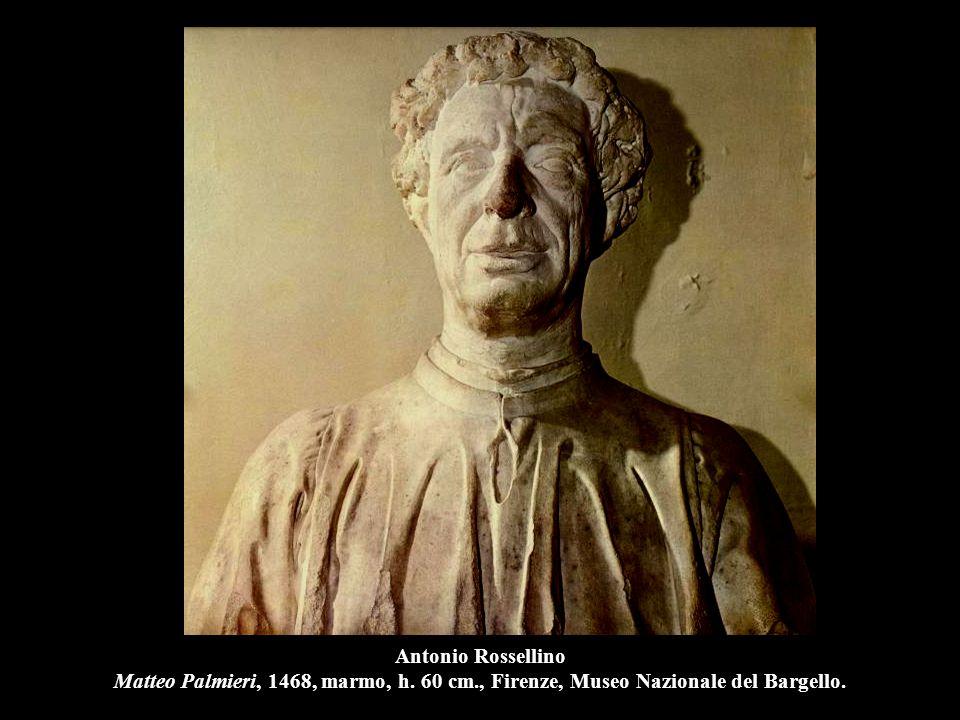 Antonio Rossellino Matteo Palmieri, 1468, marmo, h. 60 cm