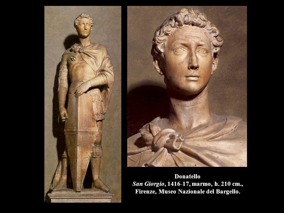 Donatello San Giorgio, 1416-17, marmo, h. 210 cm
