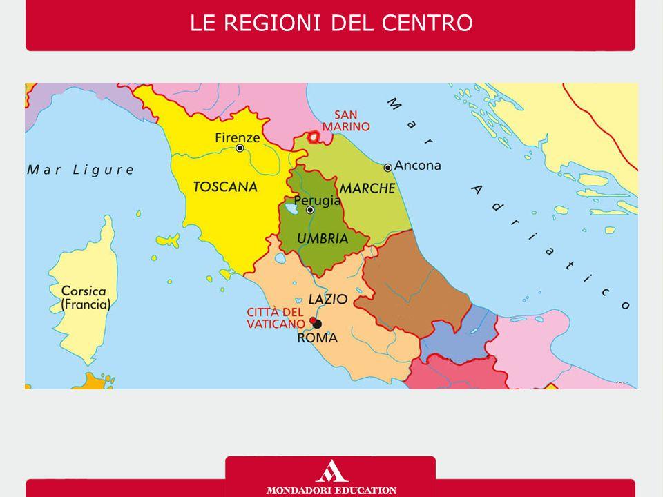 03/07/12 LE REGIONI DEL CENTRO