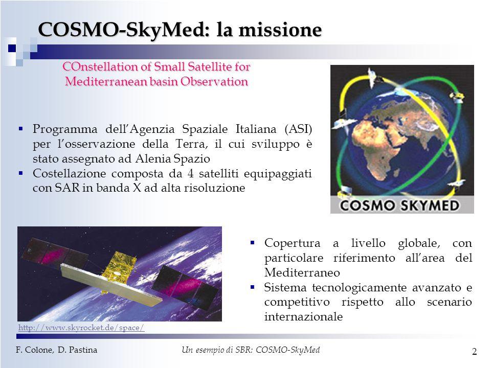 COSMO-SkyMed: la missione