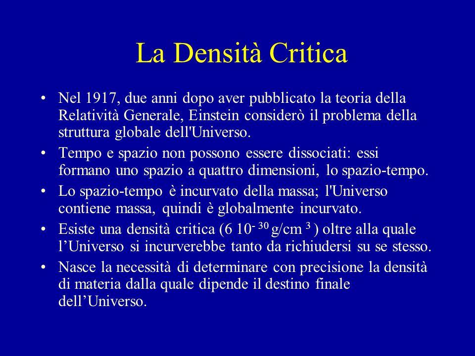 La Densità Critica
