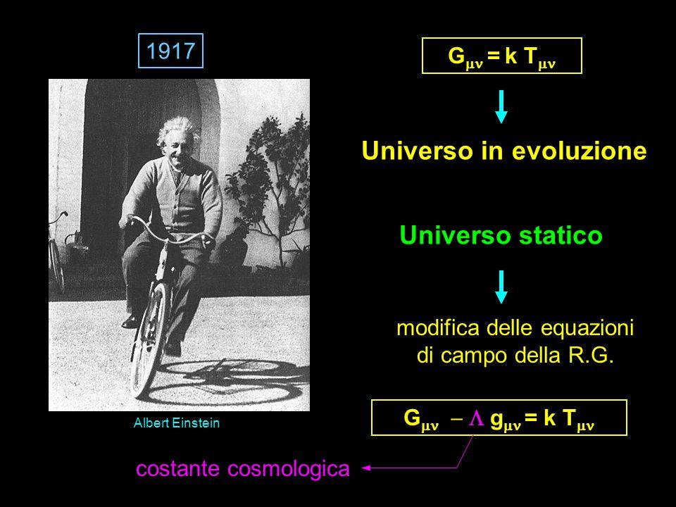 Universo in evoluzione