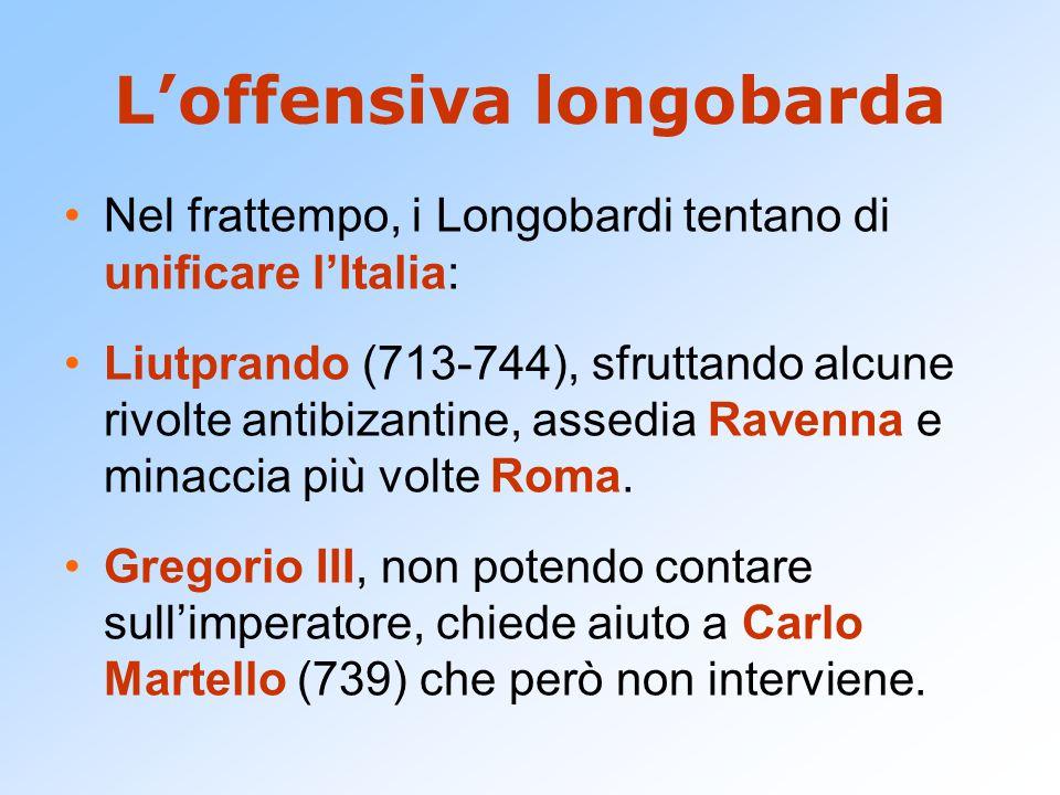 L'offensiva longobarda