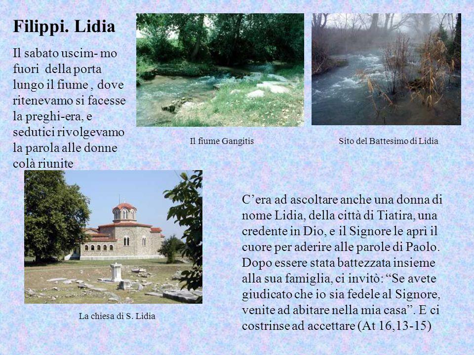 Sito del Battesimo di Lidia