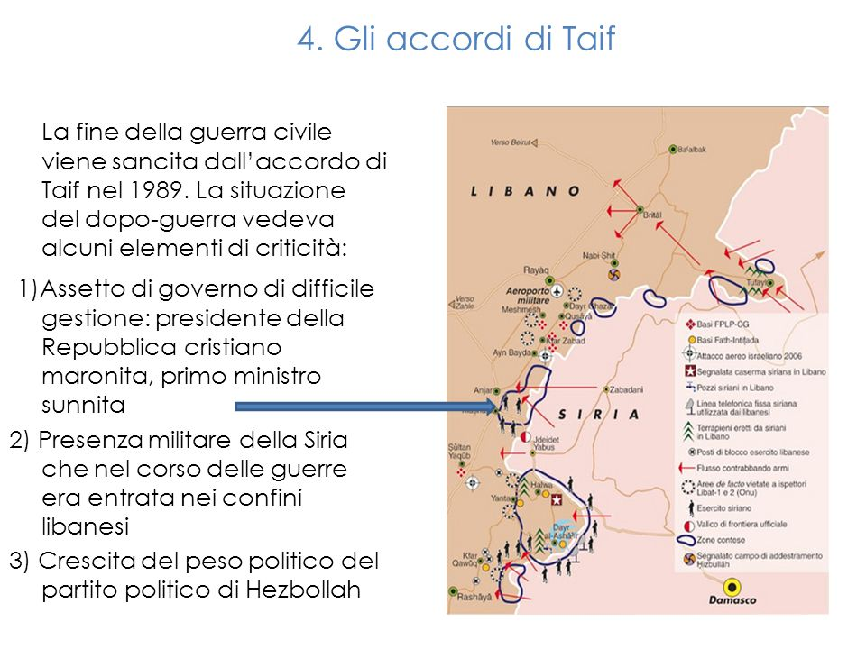 4. Gli accordi di Taif