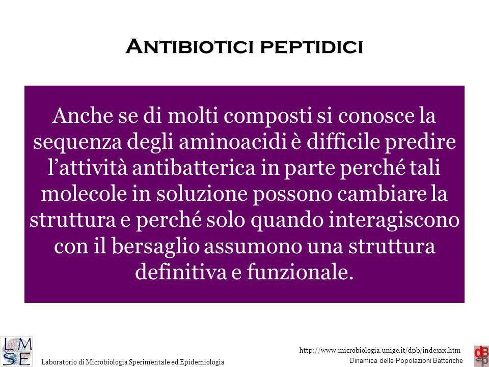 Antibiotici peptidici