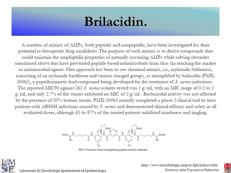 Brilacidin.