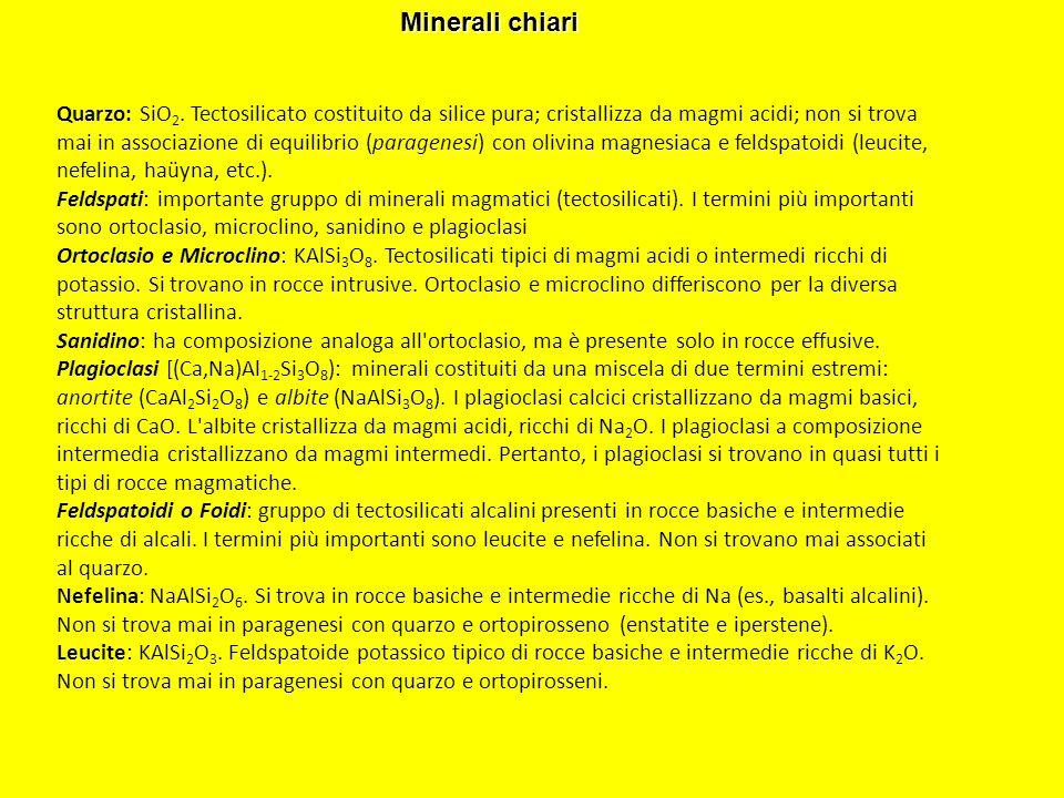 Minerali chiari