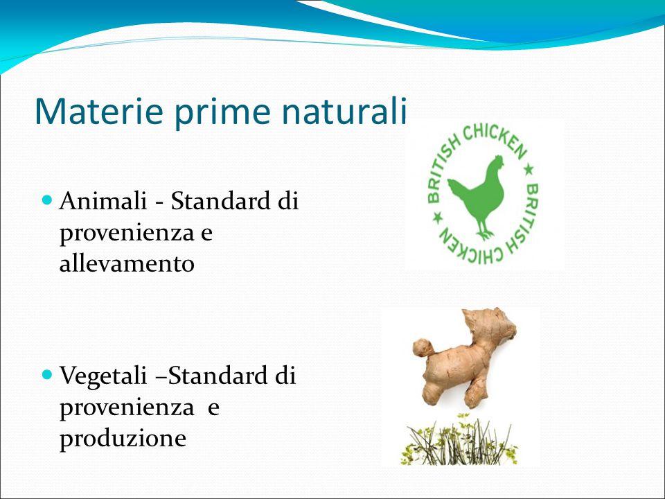 Materie prime naturali