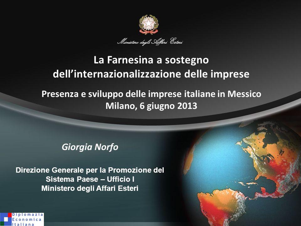La Farnesina a sostegno dell'internazionalizzazione delle imprese