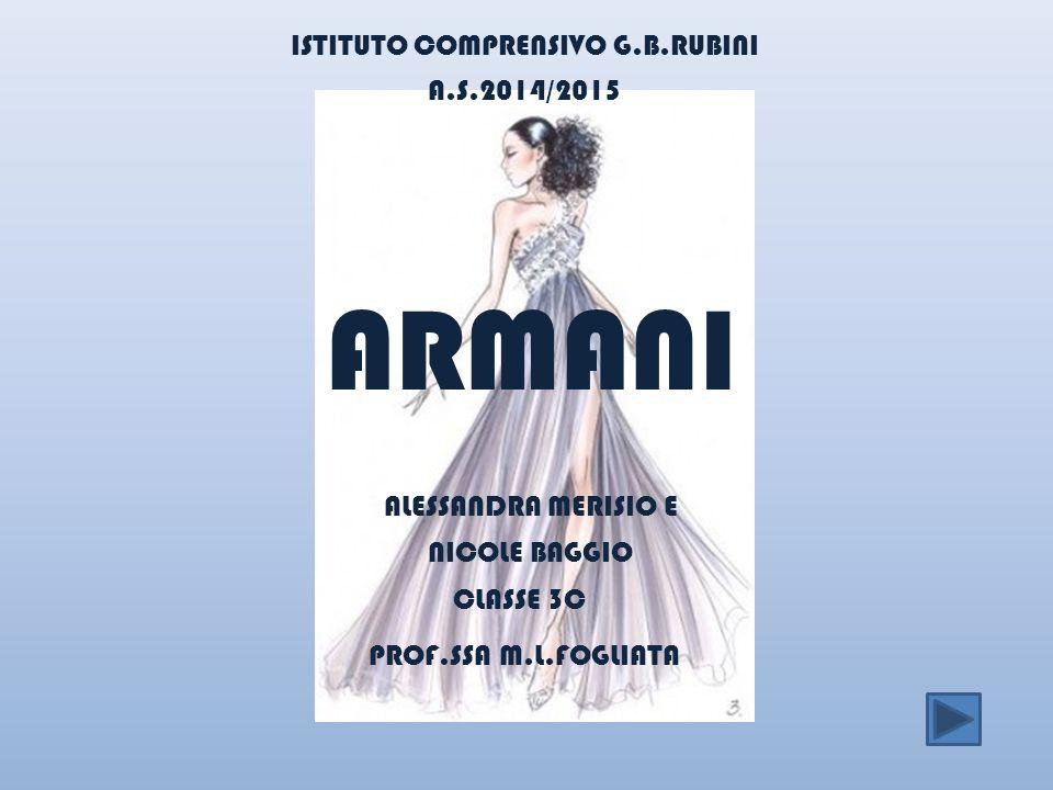 ARMANI ISTITUTO COMPRENSIVO G.B.RUBINI A.S.2014/2015