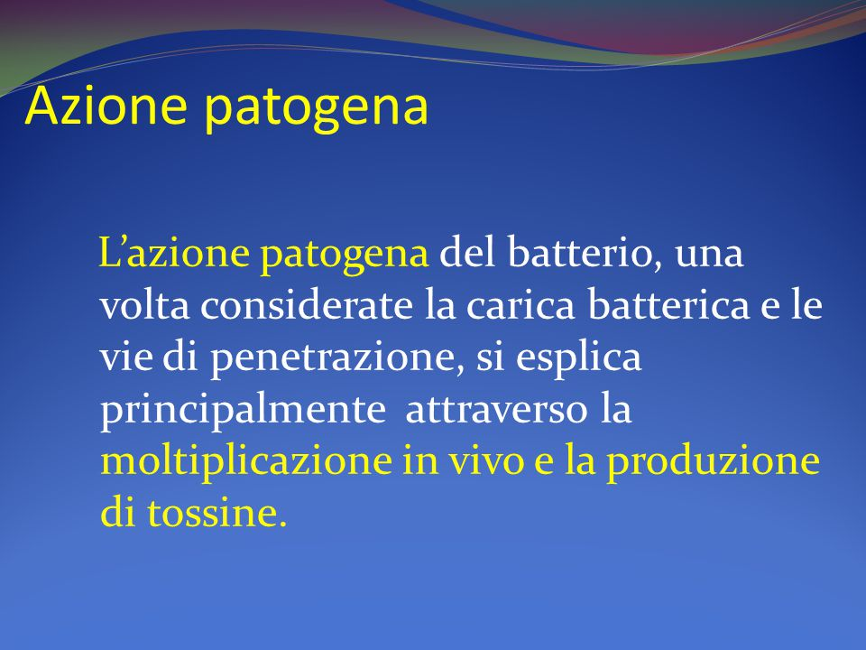 Azione patogena