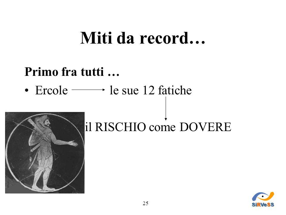 Miti da record… Primo fra tutti … Ercole le sue 12 fatiche