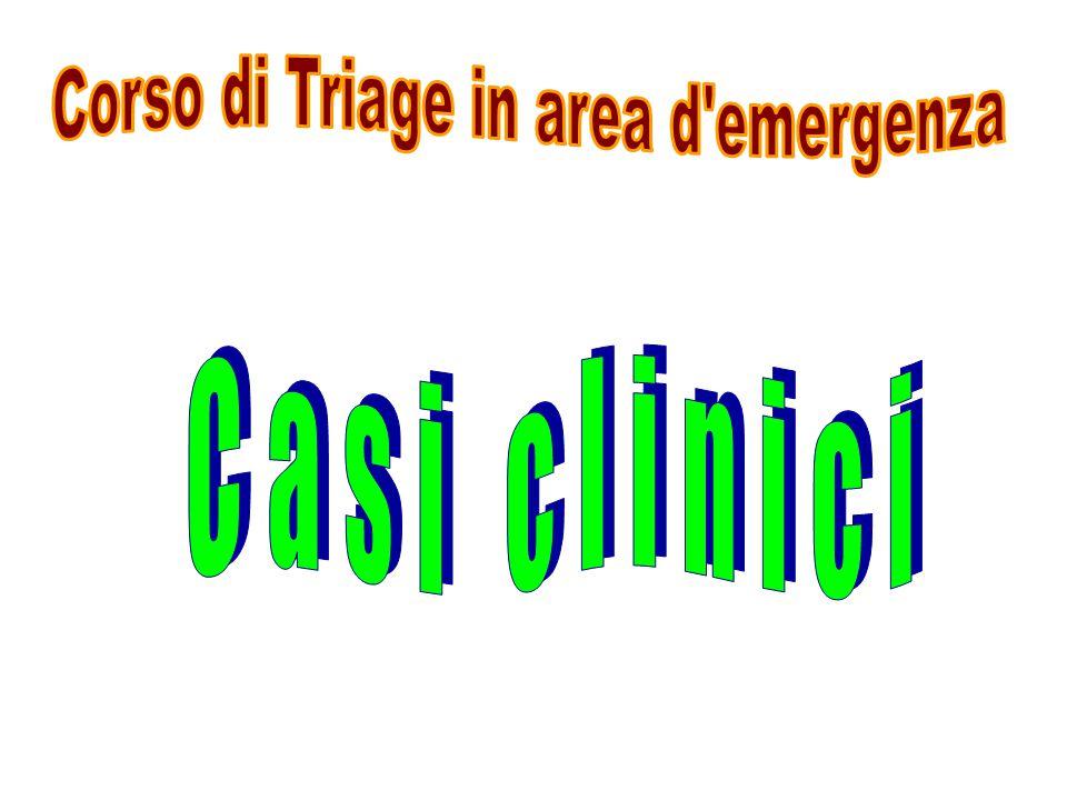Corso di Triage in area d emergenza