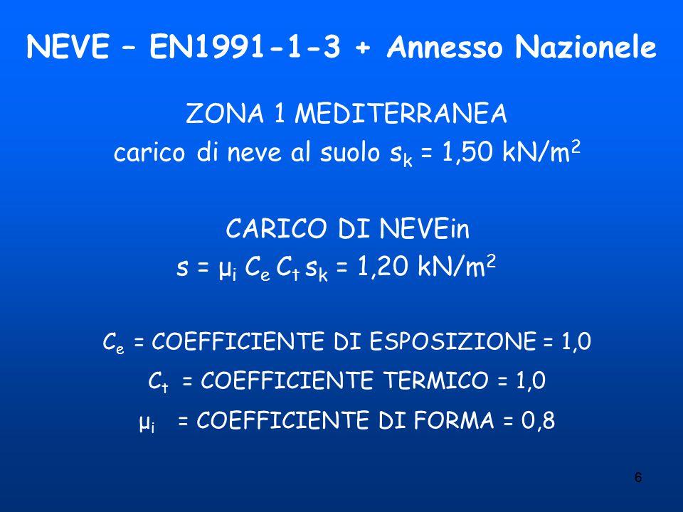 NEVE – EN1991-1-3 + Annesso Nazionele