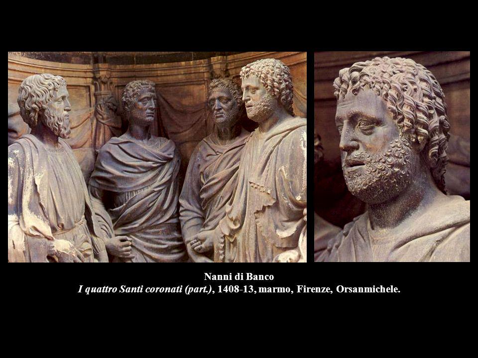 Nanni di Banco I quattro Santi coronati (part