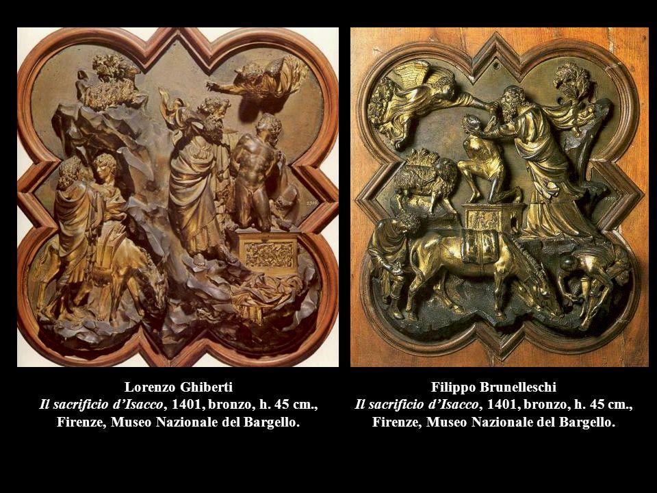 Lorenzo Ghiberti Il sacrificio d'Isacco, 1401, bronzo, h. 45 cm