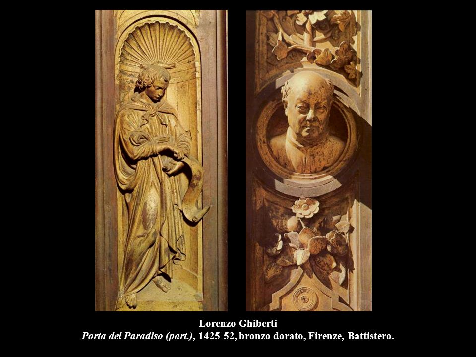 Lorenzo Ghiberti Porta del Paradiso (part