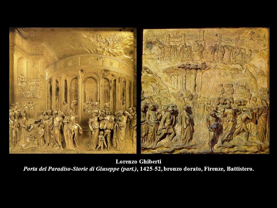 Lorenzo Ghiberti Porta del Paradiso-Storie di Giuseppe (part