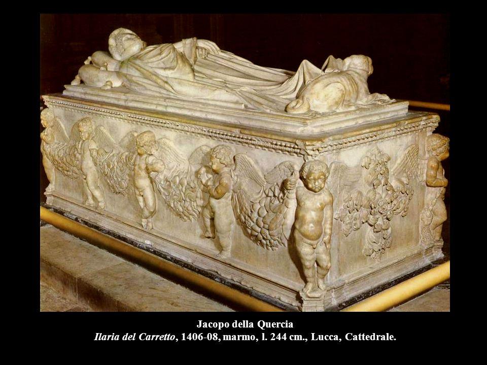 Jacopo della Quercia Ilaria del Carretto, 1406-08, marmo, l. 244 cm