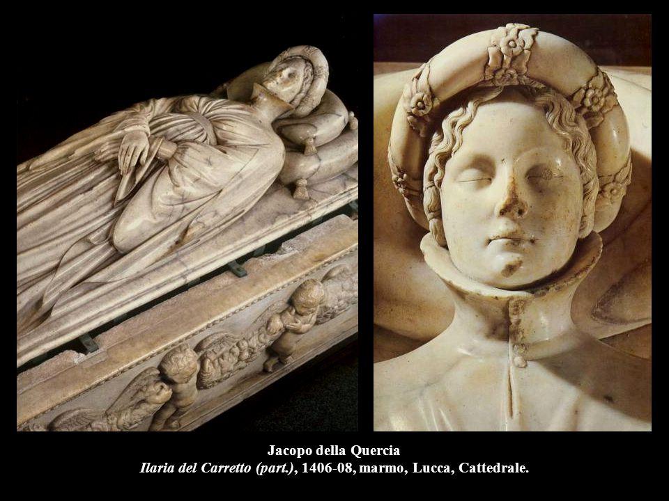 Jacopo della Quercia Ilaria del Carretto (part