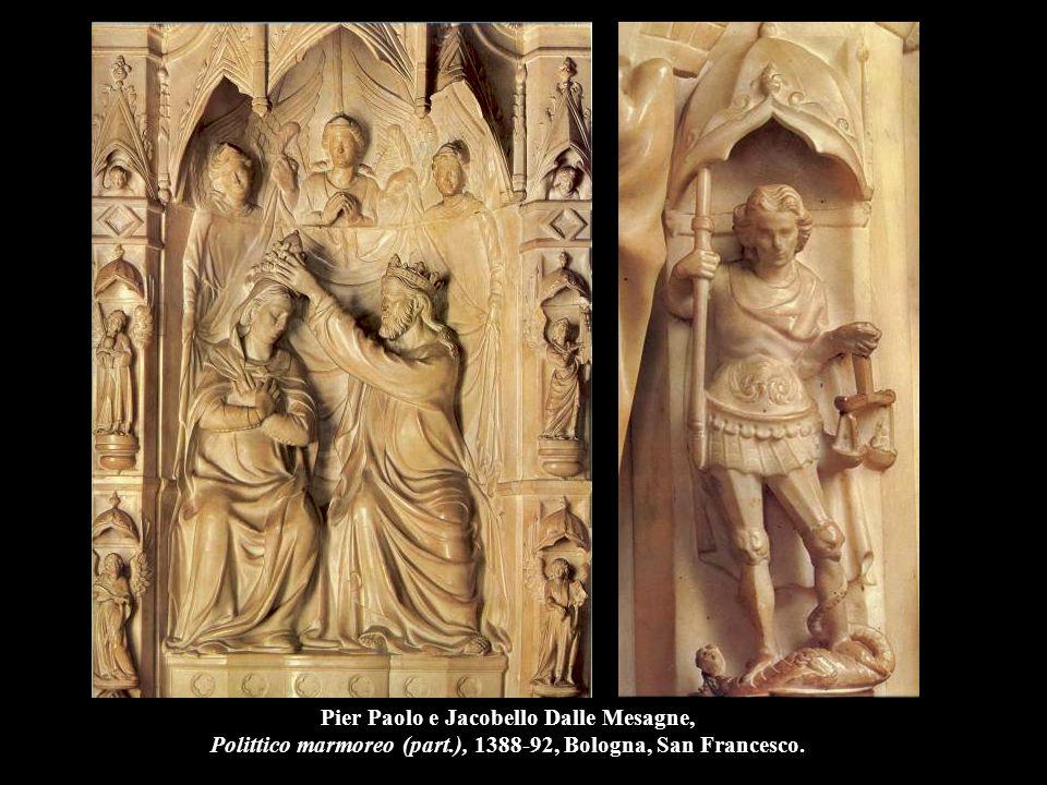 Pier Paolo e Jacobello Dalle Mesagne, Polittico marmoreo (part