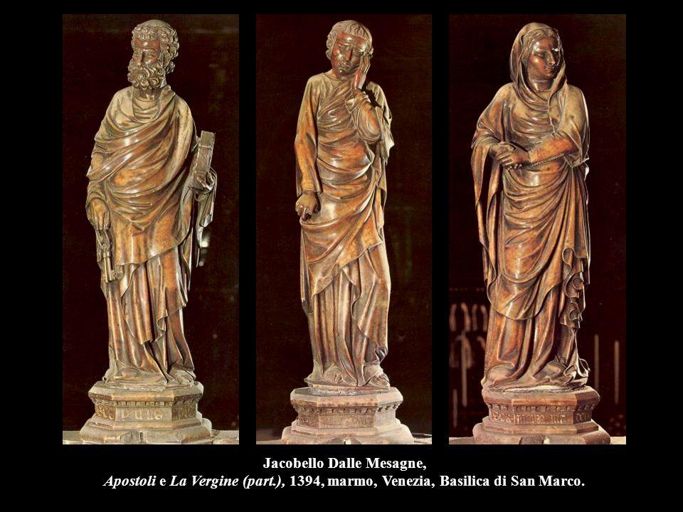 Jacobello Dalle Mesagne, Apostoli e La Vergine (part