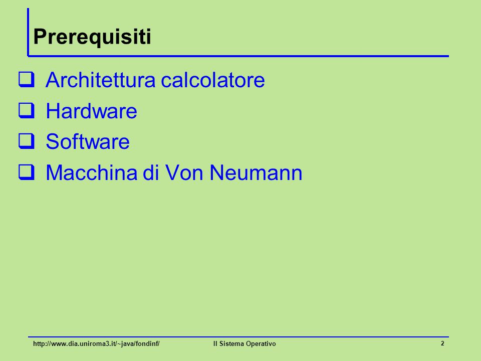 Corso di laurea ingegneria informatica fondamenti di for Software di progettazione di architettura domestica