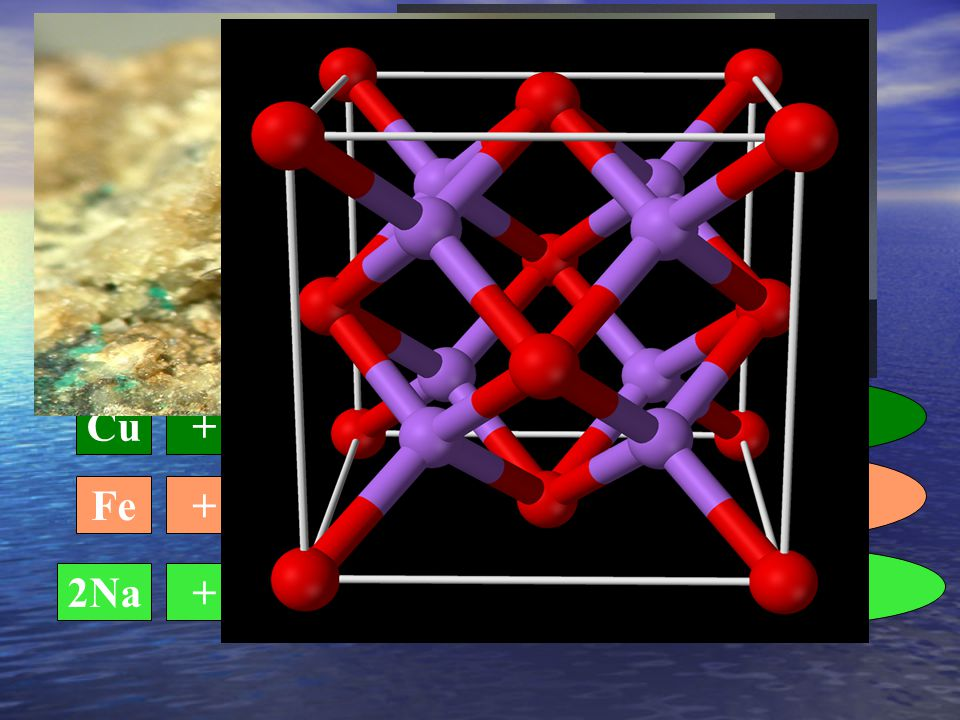 Gli Ossidi Gli ossidi derivano dalla reazione di un metallo con l ossigeno (reazione di ossidazione)
