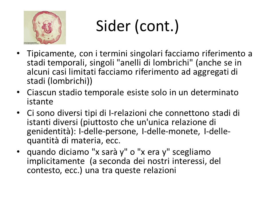 Sider (cont.)
