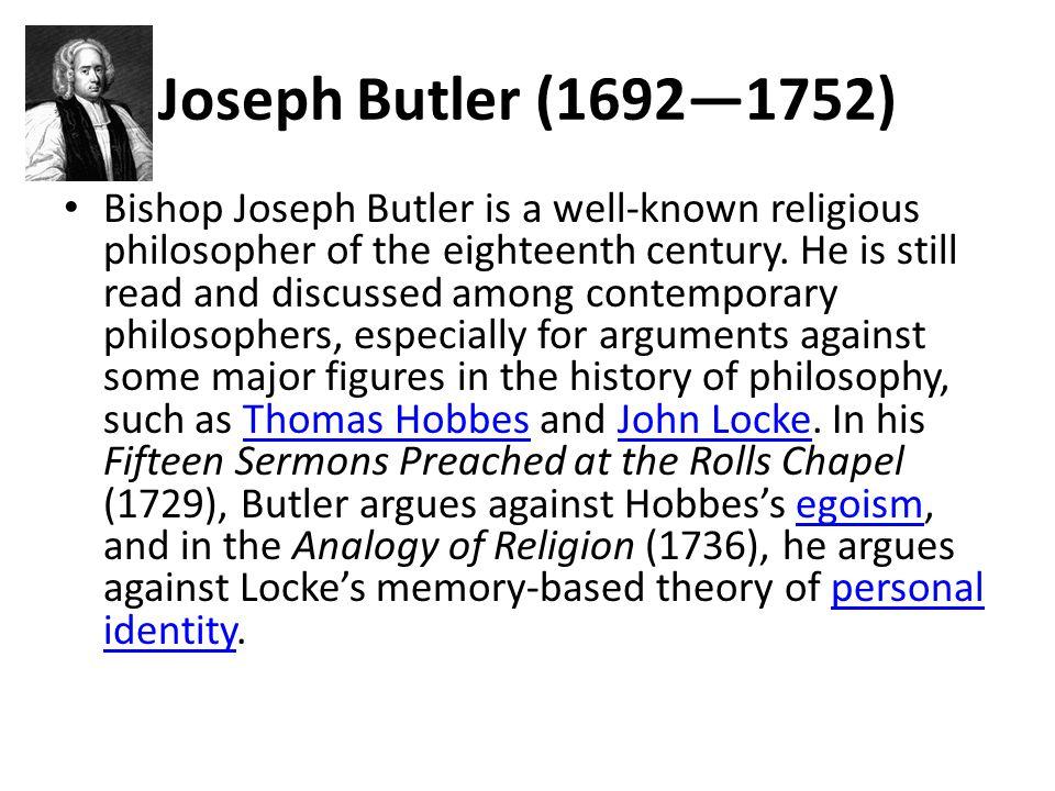 Joseph Butler (1692—1752)