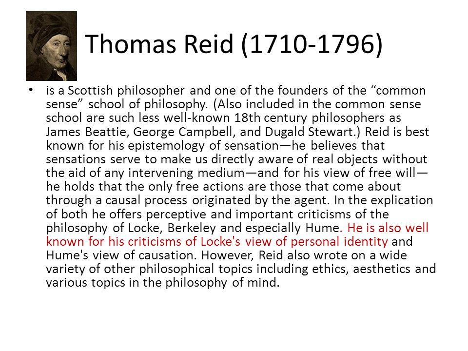 Thomas Reid (1710-1796)