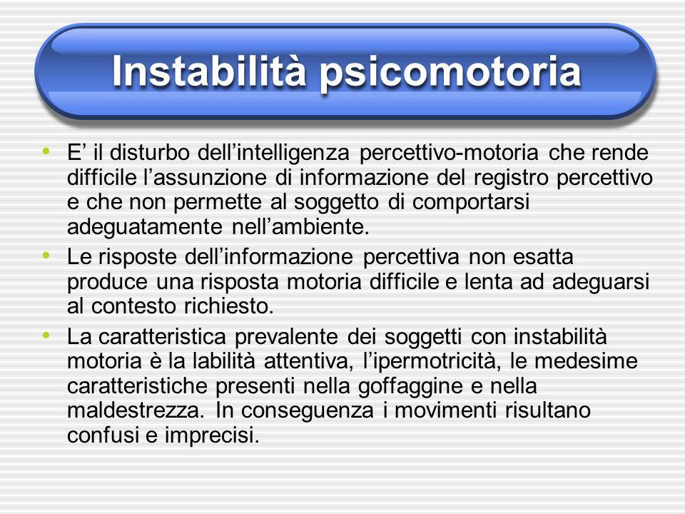 Instabilità psicomotoria