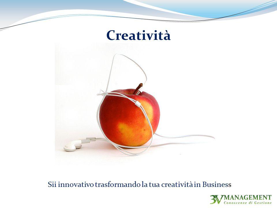 Sii innovativo trasformando la tua creatività in Business
