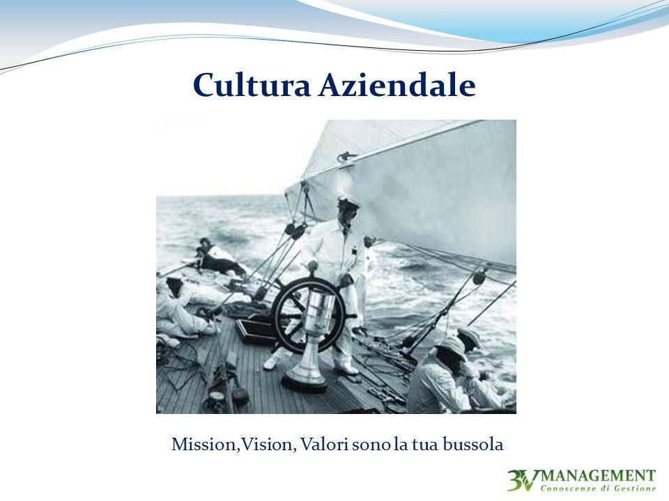 Mission,Vision, Valori sono la tua bussola