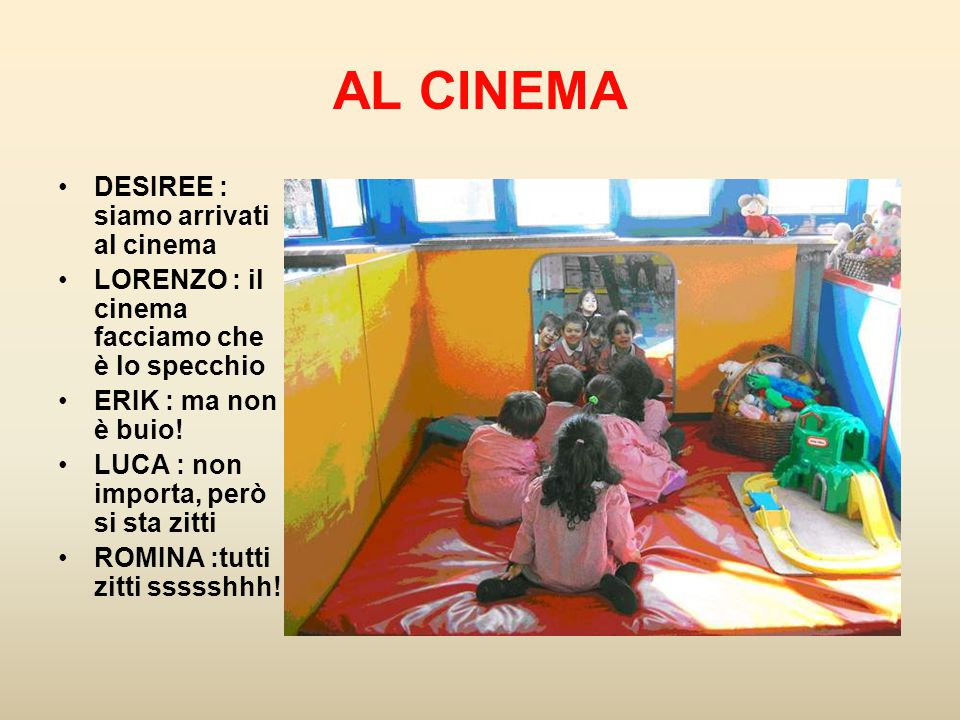 AL CINEMA DESIREE : siamo arrivati al cinema