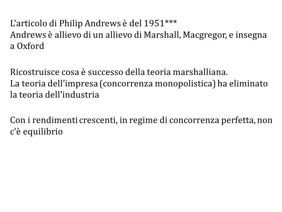 L'articolo di Philip Andrews è del 1951***