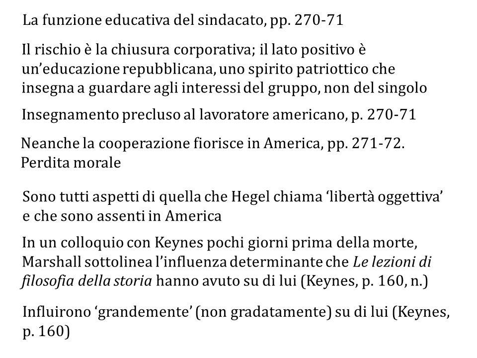 La funzione educativa del sindacato, pp. 270-71