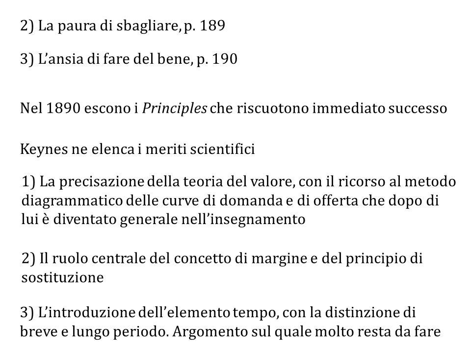 2) La paura di sbagliare, p. 189