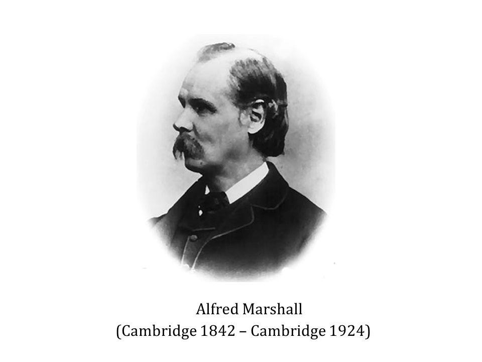 Alfred Marshall (Cambridge 1842 – Cambridge 1924)