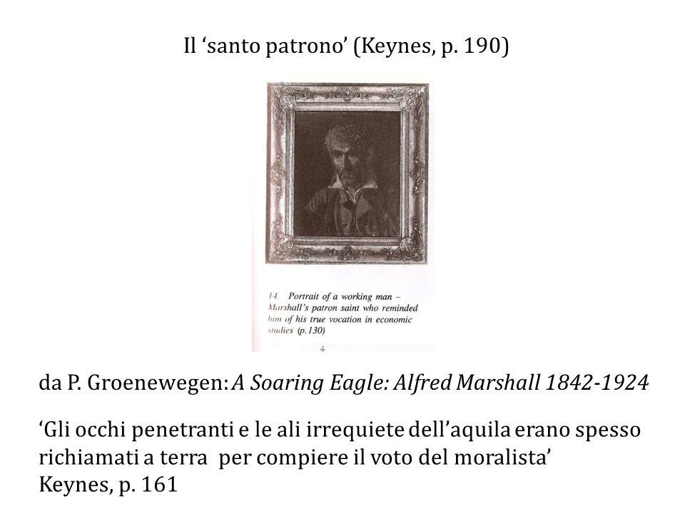 Il 'santo patrono' (Keynes, p. 190)