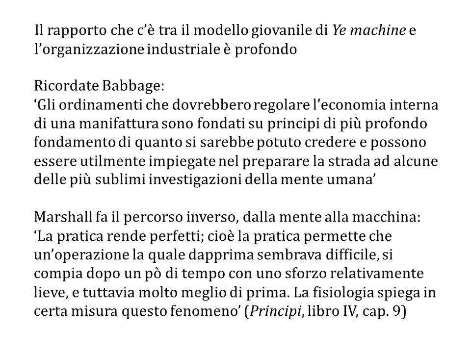 Marshall fa il percorso inverso, dalla mente alla macchina: