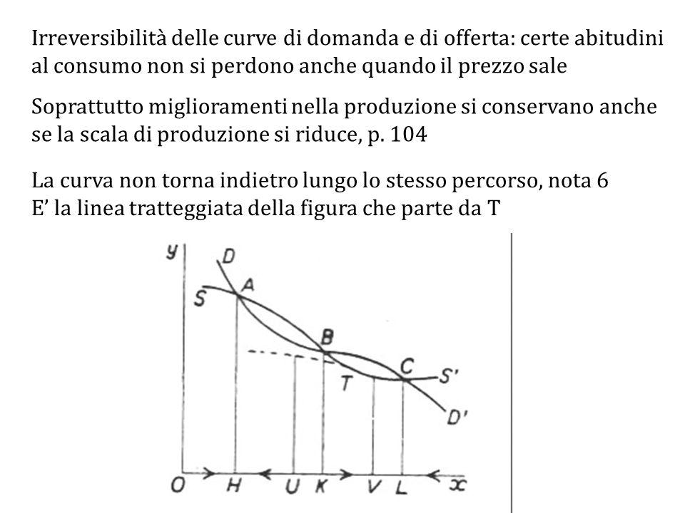La curva non torna indietro lungo lo stesso percorso, nota 6