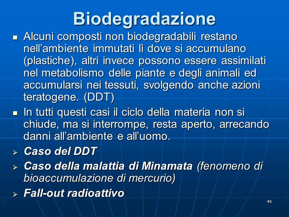 Biodegradazione