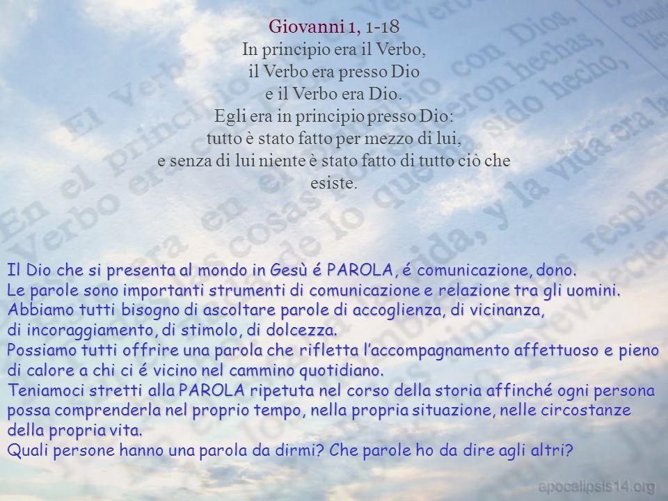 Giovanni 1, 1-18